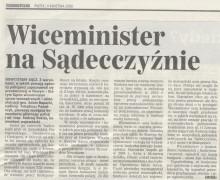 Witold Bodziony, 11 kwietnia 2008, DZIENNIK POLSKI