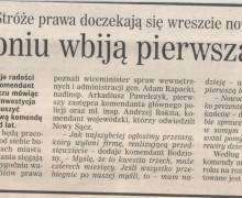 Witold Bodziony, 15 kwietnia 2008 DZIENNIK POLSKI