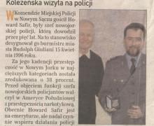 Witold Bodziony, 16 listopada 2007 GAZETA KRAKOWSKA