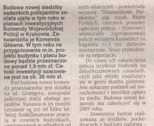Witold Bodziony, 17 lutego 2008 DZIENNIK POLSKI