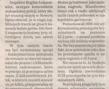 Witold Bodziony, 17 marca 2007 GAZETA KRAKOWSKA
