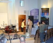 Wręczenie statuetek fundacji Tarcza-konferencja Gródek 2010